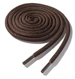OrthoStep Thick Round Athletic 50 inch Brown Shoe laces - Th