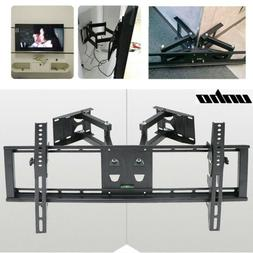 Corner Wall TV Mount Bracket Tilt Swivel LED LCD Monitor 32