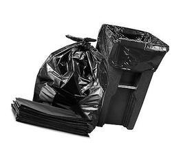 "65 Gallon Trash Bags for Toter, Large Black Trash Bags, 50"""