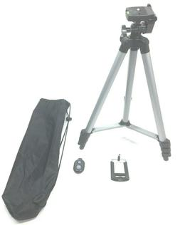 Eocean Tripod, 50-inch Universal Video Tripod for Cellphone,