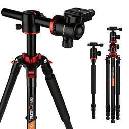 K&F Concept TM2534T DSLR Camera Tripod 66 Inch Portable Magn