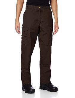 TRU-SPEC Men's 24-7 Tactical Pant, Brown, 50-Inch Unhemmed