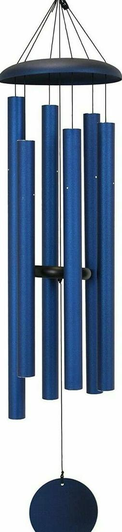 Corinthian Bells tuned windchimes 50 inch midnight blue USA