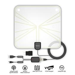 VICTONY TV Antenna, Costech Indoor Amplified HDTV Antenna-50