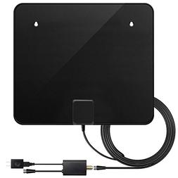 TV Antenna, Upgraded Version Indoor Amplified HDTV Antenna 6