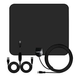 50 Mile TV Antenna HEIRBLS Long Range Amplified HD Digital T