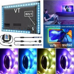 TV Back Lighting Kit LED Strip USB Powered for 24 - 80 65 70