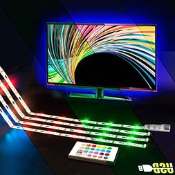 LED TV Backlight,ViLSOM Powered USB LED Strip Lights 6.56Ft