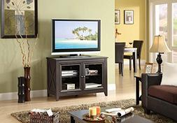 """Best TV Stand Entertainment Console Rack Rear for up to 44"""""""