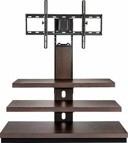 """Insignia- TV Stand for Most Flat-Panel TVs Up to 55"""" - Dark"""