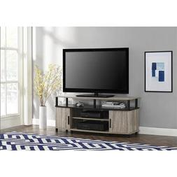 Premium Tv Stand for Flat Screens Wood Carson Console Furnit