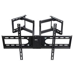 Vemount Corner TV Wall Mount Bracket Full Motion for 30-65 i