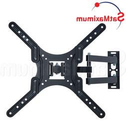 "FULL MOTION TV Wall Mount 23 - 55"" inch Swivel One Arm TV Br"