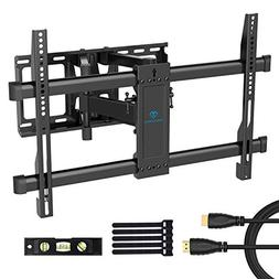 Full Motion TV Wall Mount Bracket Dual Articulating 6 Arms B