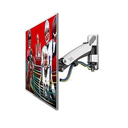 TV Wall Mount Bracket with Articulating Arm Height Adjustabl