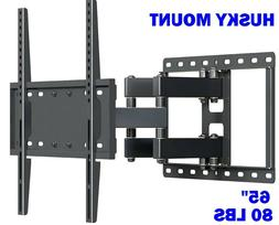 TV Wall Mount Bracket Full Motion Tilt Swivel Fits 32 40 47