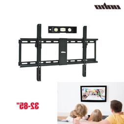"Low Profile TV Wall Mount Bracket 32-80"" LCD OLED Plasma Scr"