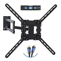 """TV Wall Mount Fits Most 19""""-55"""" LCD/LED/Flat Screens Up To 6"""