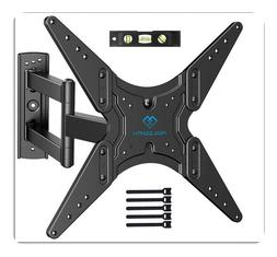 TV Wall Mount for Most 26-55 Inch Flat Curved TVs with Swive