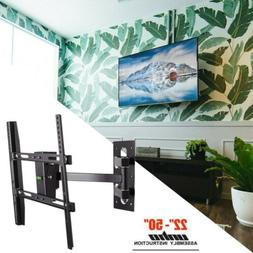 "TV Wall Mount Full Motion Bracket 32 37 40 42 50"" inches Til"