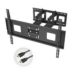 Fleximounts TV Wall Mount Bracket for 32-70 inch TV, Full Mo
