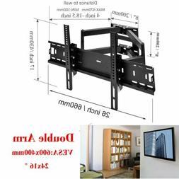 TV Wall Mount Tilt Swivel 32 36 37 40 42 45 46 47 50 55 60 6