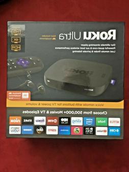ROKU ULTRA HD MEDIA STREAMER  4661R VOICE REMOTE JBL HEADPHO