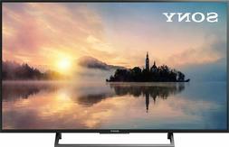 "Sony 49"" 4K Ultra HD HDR Smart LED TV 2017 Model with 3 x HD"