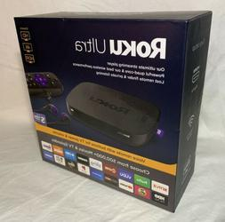 Roku Ultra HD/4K/HDR Streaming Media Player - Voice Remote,