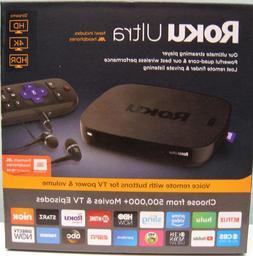ROKU ULTRA  HD MEDIA STREAMER 4661R - BLACK , NEW IN BOX