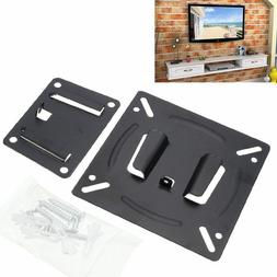 Ultra Slim Wall Mount Monitor LCD LED Panel TV Bracket For 1