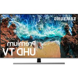 "Samsung UN75NU8000FXZA Flat 75"" 4K UHD 8 Series Smart LED TV"