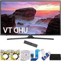 "Samsung UN50MU6300FXZA 50"" 4K Ultra HD Smart LED TV  Plus Te"