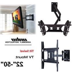 Universal Articulating Arm TV Wall Mount Holder Stand LED LC