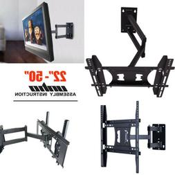 "Universal Articulating Tilt Swivel TV Wall Mount 30- 50"" for"