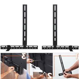 Universal Soundbar Bracket Mounting on TV /Wall for Home The