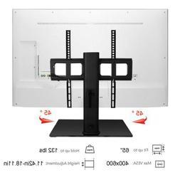 Universal Swivel TableTop TV Stand Base Pedestal Bracket Mou
