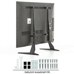 Universal Tabletop Flat TV Monitor Stand Base Unit Adjustabl