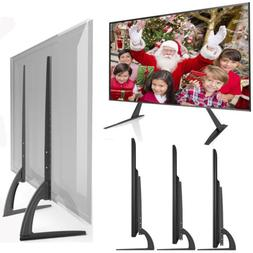 """Universal TV Stand Table Top for Most 17-55"""" LCD Flat Scre"""