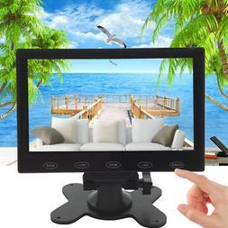US 7'' Ultra Thin 800*480 TFT LCD Video Audio VGA HDMI HD Mo