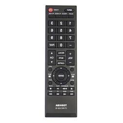 US New CT-RC1US-16 Remote Control for TOSHIBA TV 43L420U 49L