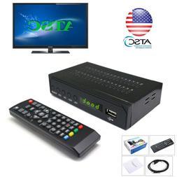 1080P Digital Converter ATSC TV Box Antenna Signal Tuner Rec
