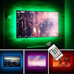 USB Powered LED Strip Lights TV Backlights Kit 50 To 55 Inch