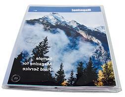JW Field Service Supplies, Vinyl Magazine and Tract Organize