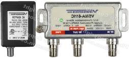 Viewsonics VSMA-611C 1-Port 15dB Cable TV HDTV Signal Booste