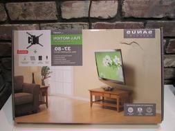 """SANUS VuePoint Full-Motion TV Wall Mount Kit 37"""" - 80"""" Flat"""