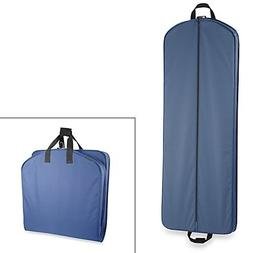 WallyBags 60-Inch Gown Length Garment Bag in Navy blue