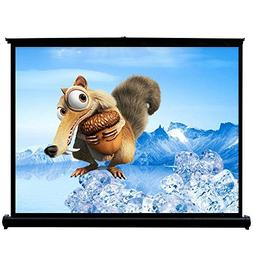 "50"" Projector Screen Self-standing 4:3 Mobile Projection Scr"