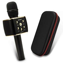 Wireless Karaoke Microphone w/3300mAh Portable Bluetooth 12W