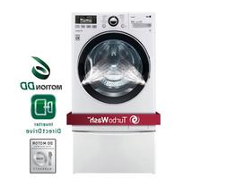 LG WM3470HWATurboWash 4.0 Cu. Ft. White Stackable With Steam